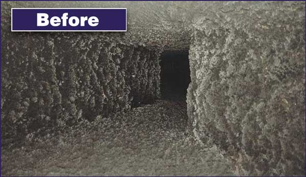 Testimonials - Swept Away Chimney Services - Before Photo